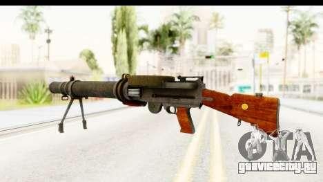 Lewis Machinegun для GTA San Andreas второй скриншот