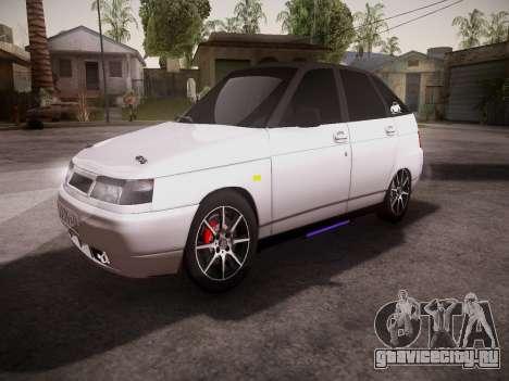 ВАЗ 2112 качественная GVR для GTA San Andreas