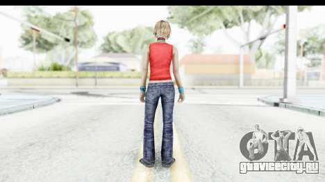 Silent Hill 3 - Heather Sporty Red Mickey Mask для GTA San Andreas третий скриншот