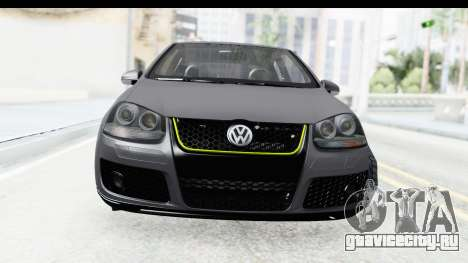 Volkswagen Golf 5 Stock для GTA San Andreas