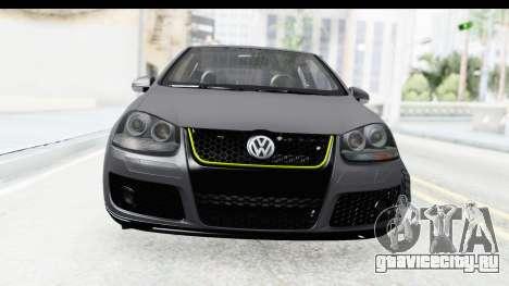 Volkswagen Golf 5 Stock для GTA San Andreas