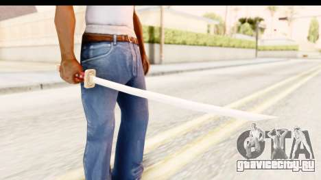 Bleach - Rukia Weapon для GTA San Andreas