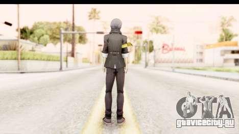 Persona 4: DAN - Yu Narukami Default Costume для GTA San Andreas третий скриншот
