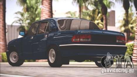 ГАЗ 3110 Качественный Сток для GTA San Andreas вид слева