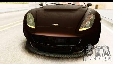 GTA 5 Dewbauchee Rapid GT SA Style для GTA San Andreas вид сбоку