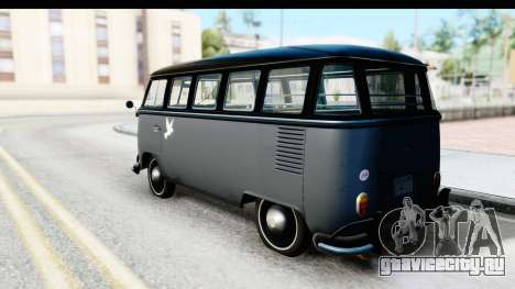 Volkswagen Transporter T1 Deluxe Bus для GTA San Andreas вид слева