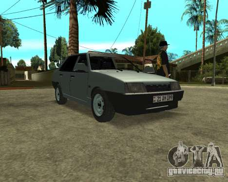 Vaz 21099 ARMNEIAN для GTA San Andreas