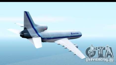 Lockheed L-1011-100 TriStar Eastern Airlines для GTA San Andreas вид справа