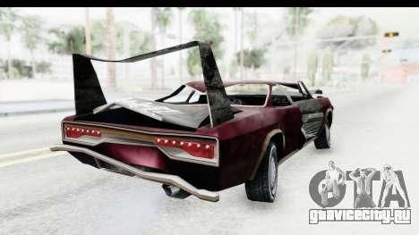 Tampa Daytona Kill для GTA San Andreas вид слева