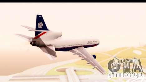 Lockheed L-1011-100 TriStar British Airways для GTA San Andreas вид справа