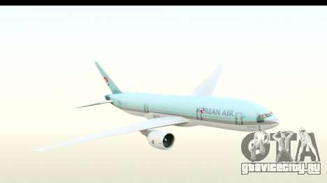 Boeing 777-200ER Korean Air для GTA San Andreas