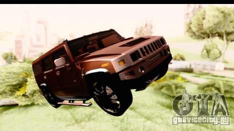 Hummer H2 для GTA San Andreas