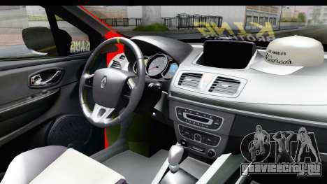 Renault Clio Four Air для GTA San Andreas вид справа