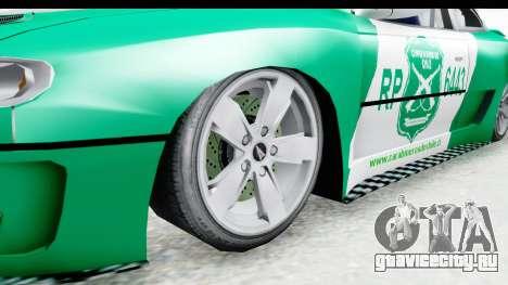 Pontiac GTO 2006 Carabineros De Chile для GTA San Andreas вид сзади