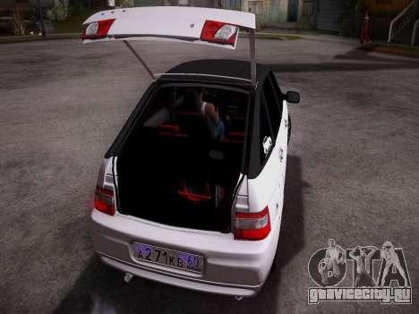 ВАЗ 2112 качественная GVR для GTA San Andreas вид справа