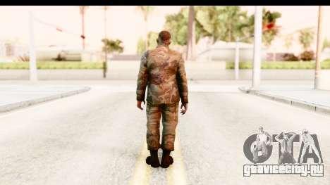 Left 4 Dead 2 - Zombie Military для GTA San Andreas третий скриншот