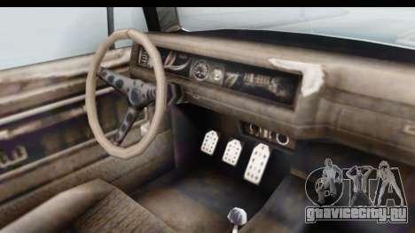 GTA 5 BF Injector для GTA San Andreas вид изнутри