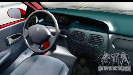 Renault Megane Coupe для GTA San Andreas вид сзади