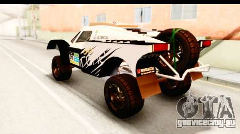 GTA 5 Desert Raid IVF для GTA San Andreas вид сверху