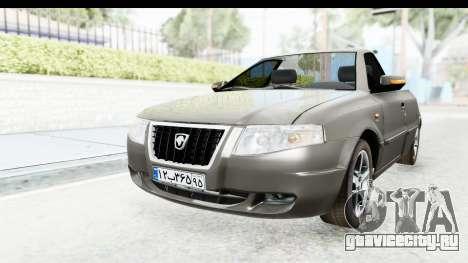 Ikco Samand Pickup v1 для GTA San Andreas