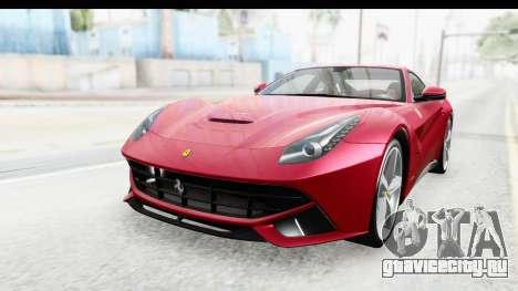 Ferrari F12 Berlinetta 2014 для GTA San Andreas вид сзади слева