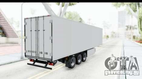 Trailer ETS2 v2 Old Skin 3 для GTA San Andreas вид сзади слева