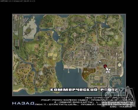 Покрасочный гараж для GTA San Andreas пятый скриншот