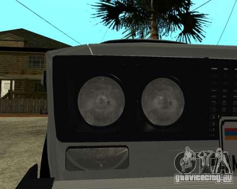 ВАЗ 2106 Armenian для GTA San Andreas колёса