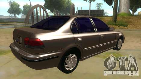 Honda Civic Sedan Stock для GTA San Andreas вид справа