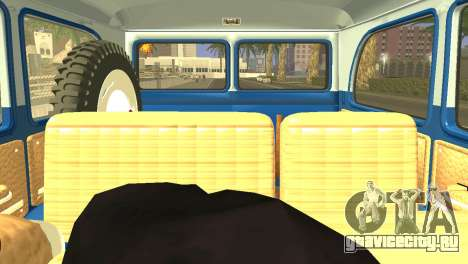 Jeep Station Wagon 1959 для GTA San Andreas вид сзади