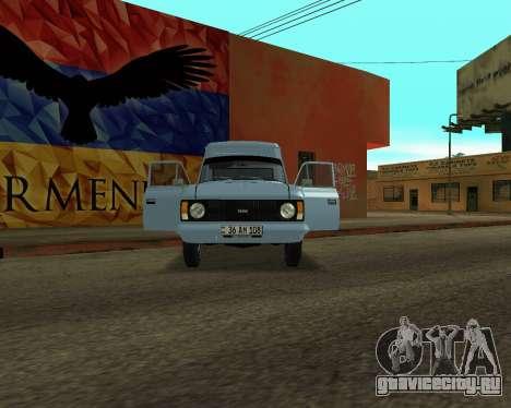 Москвич 2715 Armenian для GTA San Andreas вид слева