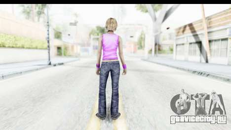 Silent Hill 3 - Heather Sporty Neon Pink для GTA San Andreas третий скриншот