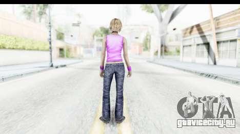 Silent Hill 3 - Heather Sporty Neon Pink для GTA San Andreas третий скриншот