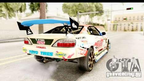 D1GP Nissan Silvia RC926 Toyo Tires для GTA San Andreas вид слева