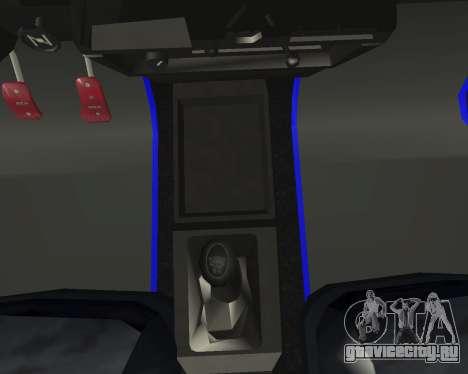 Vaz 21099 ARMNEIAN для GTA San Andreas салон