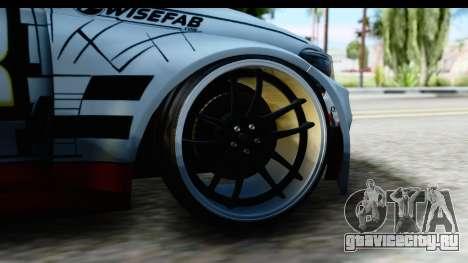 BMW M235i HGK для GTA San Andreas вид сзади