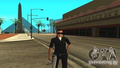 Скин женщины-полицейского для GTA San Andreas