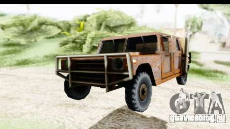 Rusted Patriot для GTA San Andreas вид справа