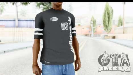 Adidas 03 T-Shirt для GTA San Andreas второй скриншот