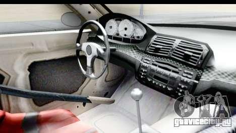 NFS Carbon - BMW M3 GTR для GTA San Andreas вид изнутри