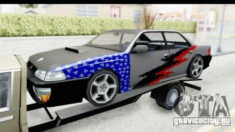 Limousine Auto Transporter для GTA San Andreas вид сзади