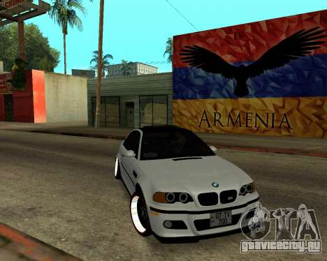 BMW M3 Armenian для GTA San Andreas