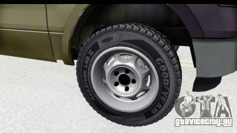 Ford F-150 Stock для GTA San Andreas вид сзади