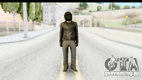 GTA 5 Heists DLC Male Skin 2 для GTA San Andreas второй скриншот