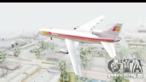 Lockheed L-1011-100 TriStar Iberia для GTA San Andreas вид справа