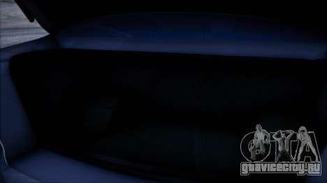 Mitsubishi Lancer GVR для GTA San Andreas вид сзади