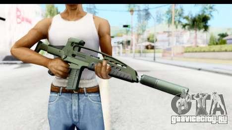 H&K XM8 Silenced для GTA San Andreas третий скриншот