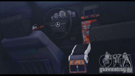 Mercedes-Benz W140 для GTA San Andreas вид сверху