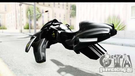 Spectre Hoverbike для GTA San Andreas вид сзади слева