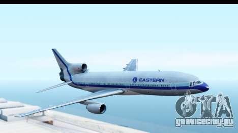 Lockheed L-1011-100 TriStar Eastern Airlines для GTA San Andreas вид сзади слева